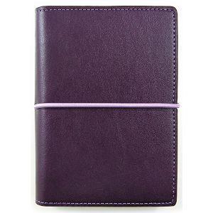 【DATA MATE】哈伯英式簡約 A7 萬用手冊 DM-509 深紫色