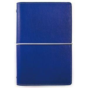 【DATA MATE】哈伯英式簡約 A6 萬用手冊 DM-709 寶藍色
