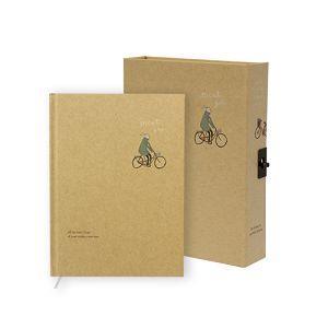 【柏格文具】旅人-50K日記 腳踏車