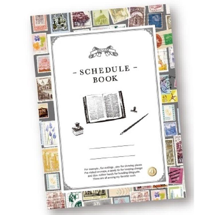 【九達】25K素材風自填月週計畫-郵票
