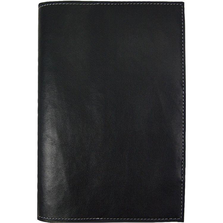 【四季紙品禮品】極簡皮革手記50K-黑空白