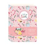 迪士尼公主手帳本-粉紅