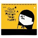 2019 `0416X1024大桌曆-快樂的理由