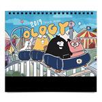 2019 奧樂雞大桌曆-雞友的日常