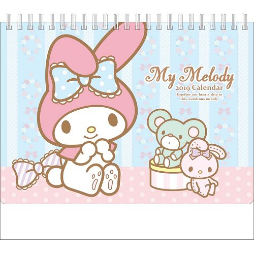 2019 My Melody大桌曆