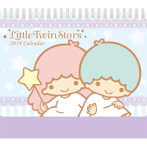 2019 LittleTwinStars小桌曆