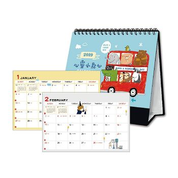 2019桌曆