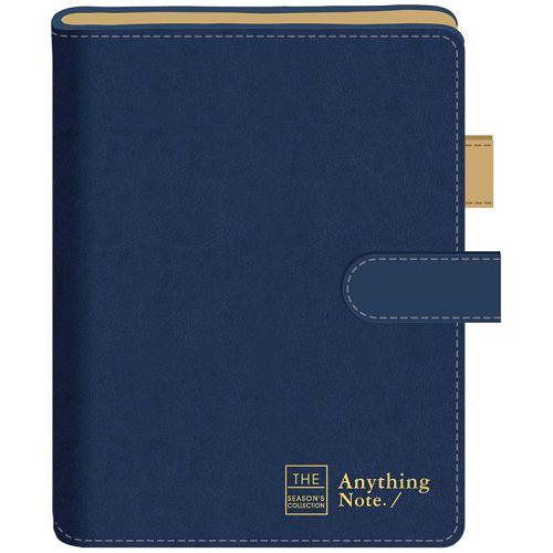 磁釦萬用手冊25K-框字藍