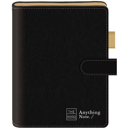 磁釦萬用手冊25K-框字黑