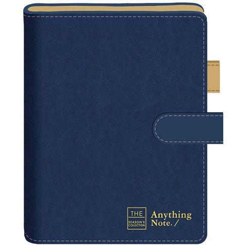 磁釦萬用手冊42K-框字藍