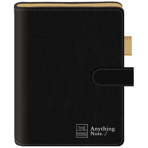 磁釦萬用手冊42K-框字黑