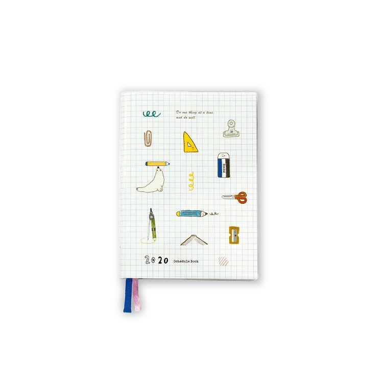2020年50K跨年膠皮手冊-文具