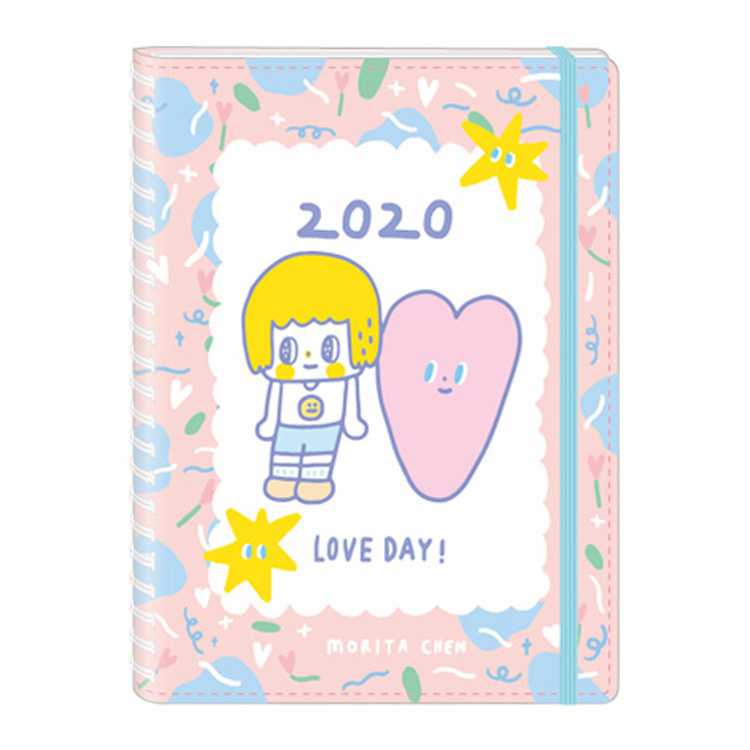 2020年跨年日誌B6線圈-陳森田愛心