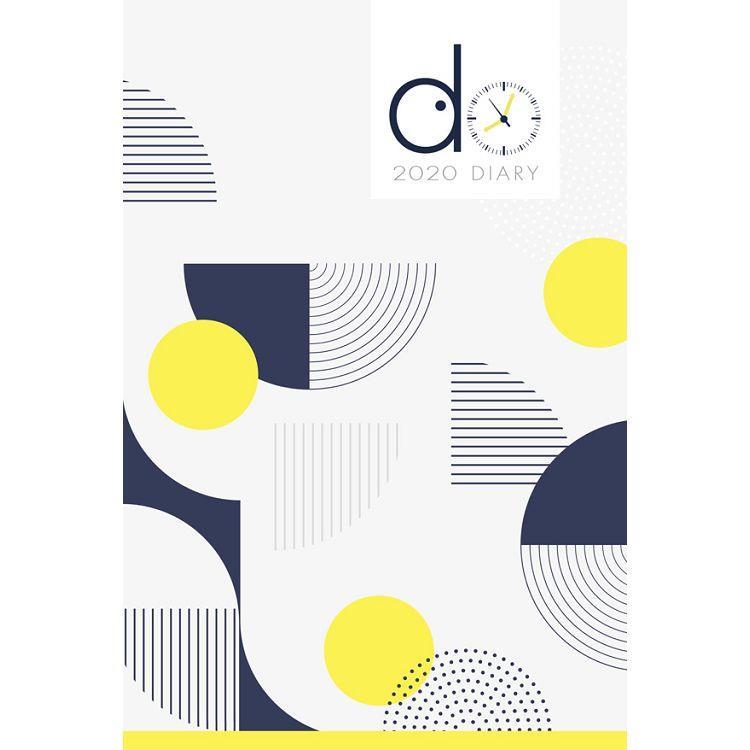 2020年DO週誌手帳-黃方案