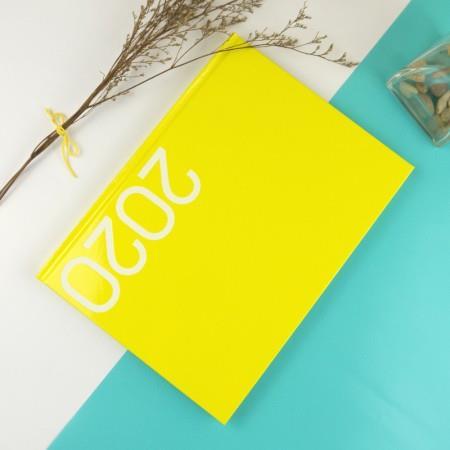 2020年16K玩色精裝直式週誌-芒黃
