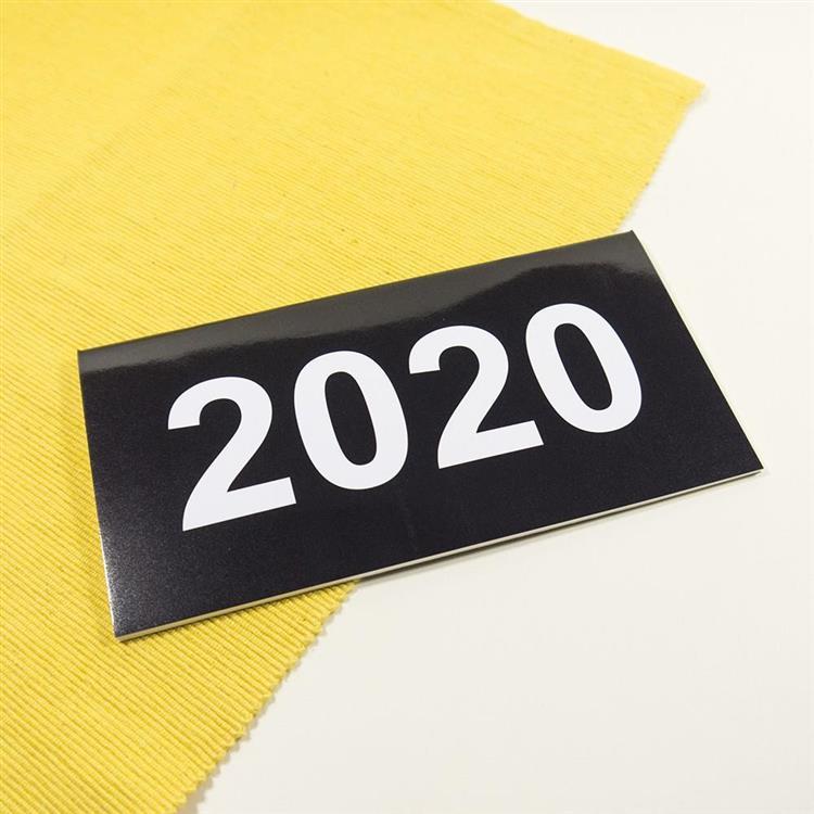 2020年48K輕巧月計畫本-深夜黑