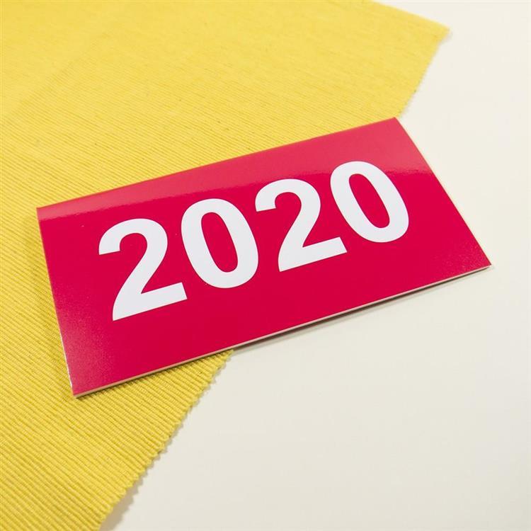 2020年48K輕巧月計畫本-胭脂紅