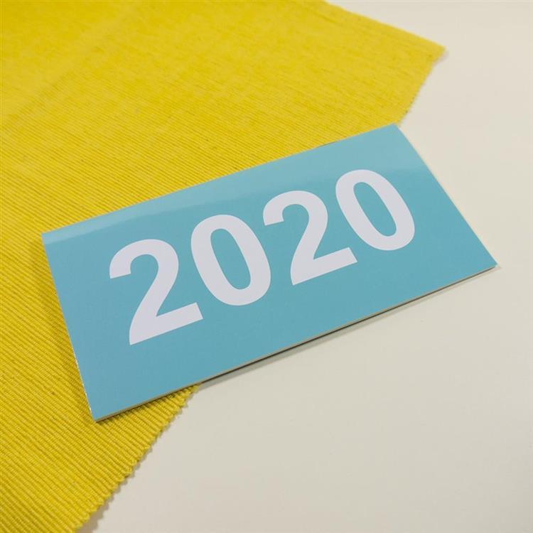 2020年48K輕巧月計畫本-靛青