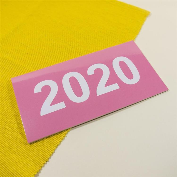 2020年48K輕巧月計畫本-蜜桃粉