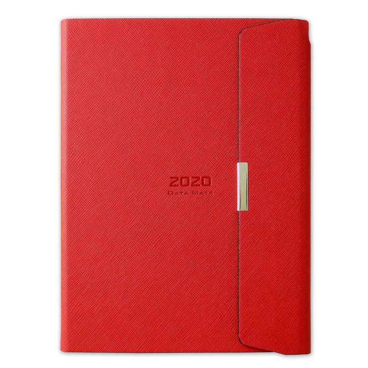 2020年【DATA MATE】義式經典 25k 皮製精裝本DM-2565-紅