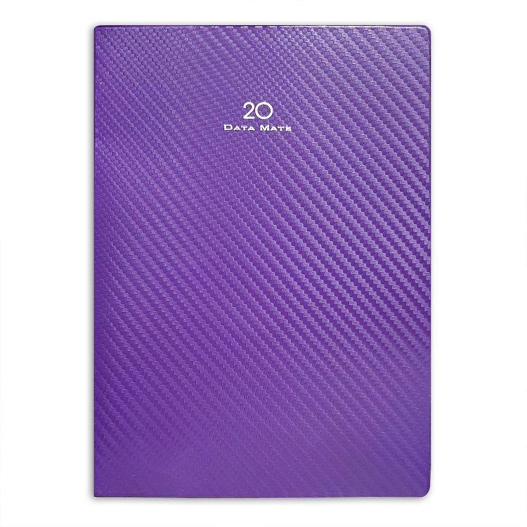 2020年【DATA MATE】25k 平裝本一天一頁DM-2570-紫