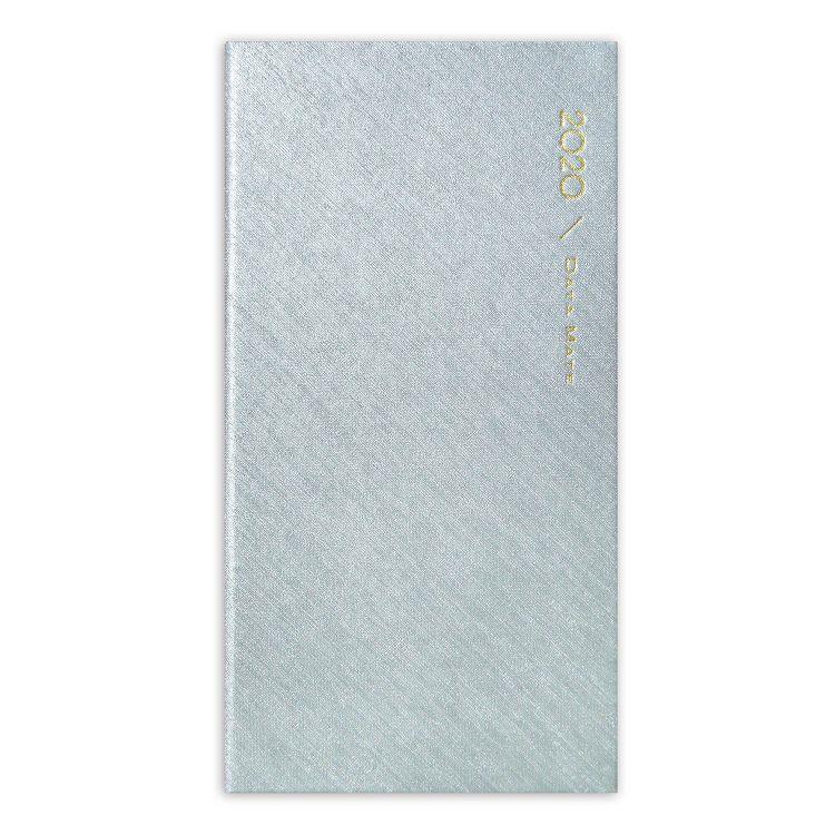 2020年【DATA MATE】珠光斜織 48k精裝本DM-4868-銀
