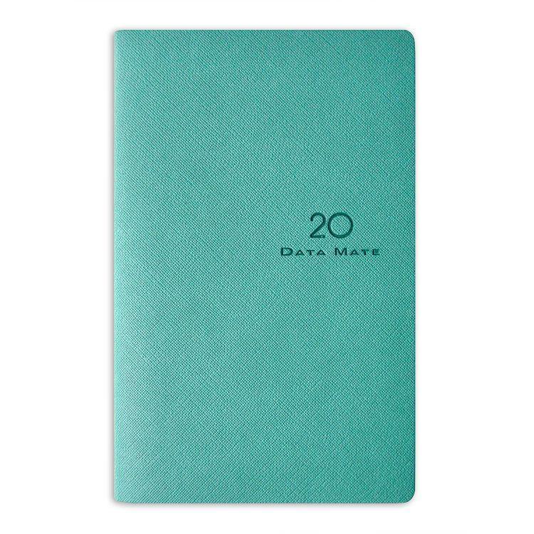 2020年【DATA MATE】歐風雅品 90k 皮製精裝本DM-9065-湖水綠