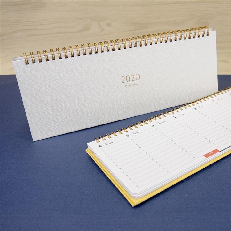 2020年時間線桌曆-月白