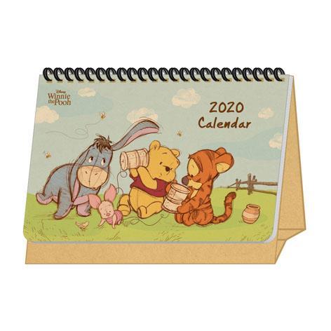 【南寶興】2020年迪士尼A5站立式桌曆-維尼