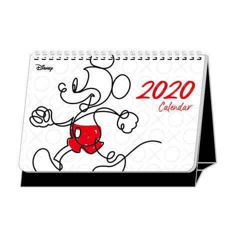 【南寶興】2020年迪士尼A5站立式桌曆-米奇
