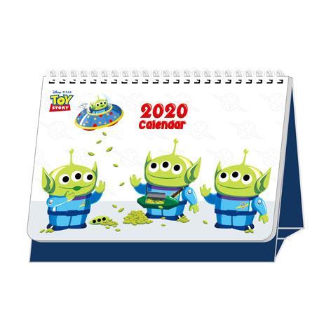 【南寶興】2020年迪士尼A5站立式桌曆-三眼怪