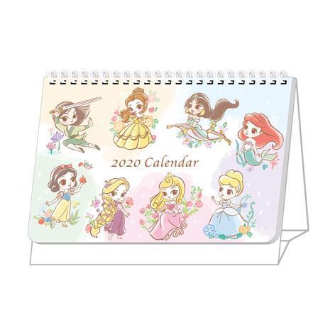 【南寶興】2020年迪士尼A5站立式桌曆-公主