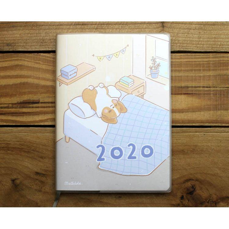 2020年柯基犬卡卡36K1週1頁日誌(悠閒時光)