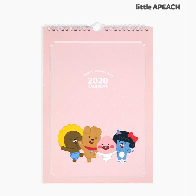 2020年[kakao friends]掛曆(粉紅色)