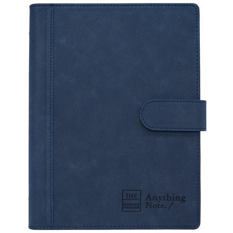 磁釦萬用手冊25K-直藍