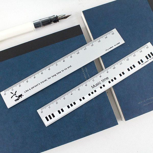 【珠友】鋁尺15cm-簡約 (隨機出貨)