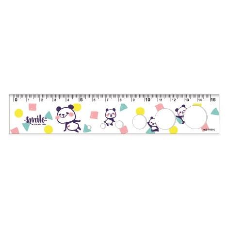 15cm洞洞尺-熊貓