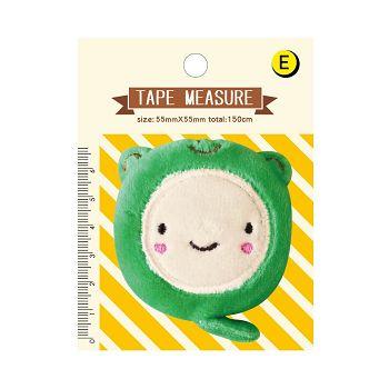 【青青】Mini Q-絨毛迷你捲尺-綠青蛙