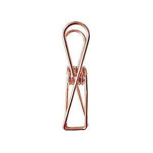【青青文具】簡單生活--18mm金屬魚尾夾 (玫瑰金)