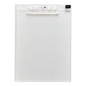 LIHIT A4透明板夾-透明A5010-25