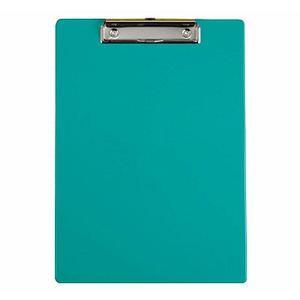 力大66105彩色塑膠板夾 綠