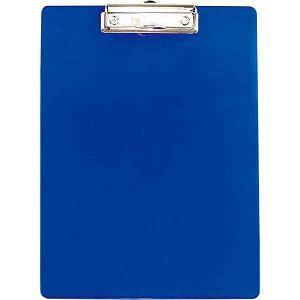 力大66188彩色板夾A4直式(刻度) 藍