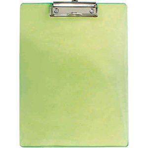 力大66188彩色板夾A4直式(刻度) 綠