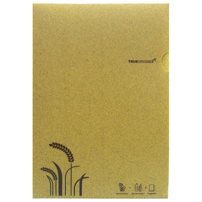 【Truegrasses】真稻A4文件夾