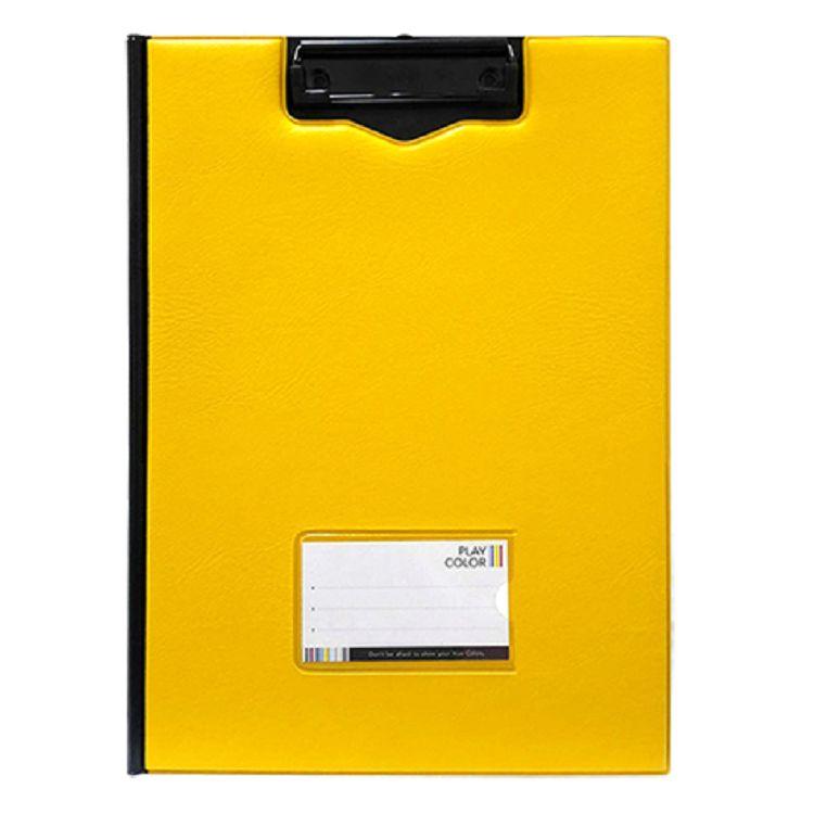 A4雙色丹麥夾-黃