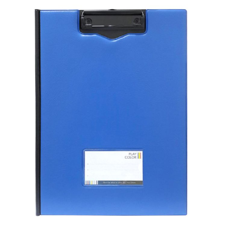 A4雙色丹麥夾-深藍