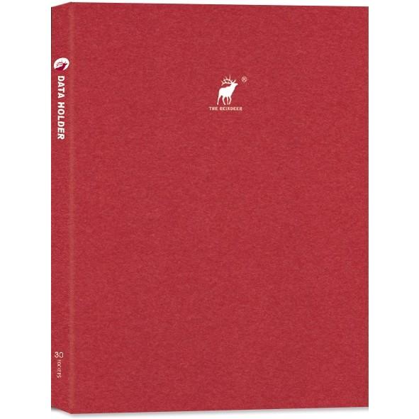 【珠友】A4資料本 / 30入-Reindeer-B紅