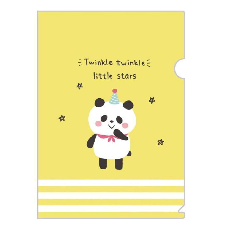 卡哇伊L型書夾D-熊貓