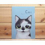 貓咪L夾-灰灰