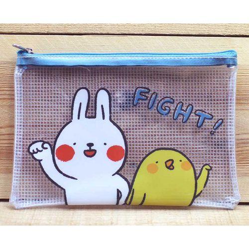 懶散兔拉鍊袋(中)FIGHT